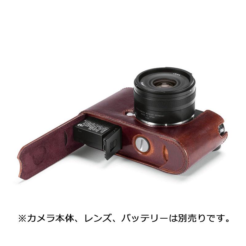 レザープロテクター ブラウン [CL用] LEICA(ライカ) (19525)