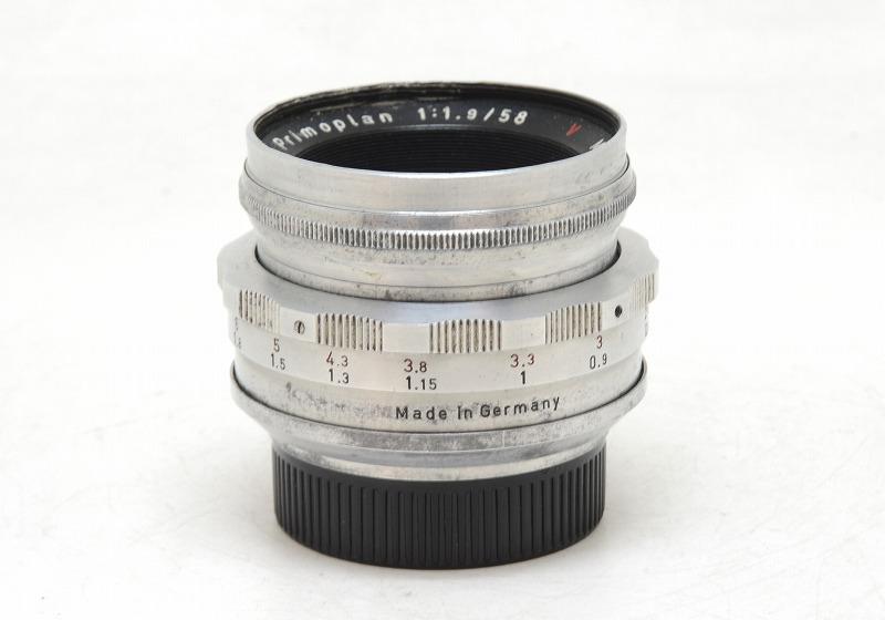 【委託】Meyer(メイヤー) Primoplan 58mm F1.9 (M42) (NI-3094)