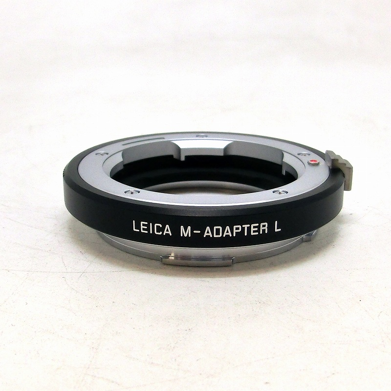 L用Mレンズアダプター [ブラック] LEICA(ライカ) (18771)