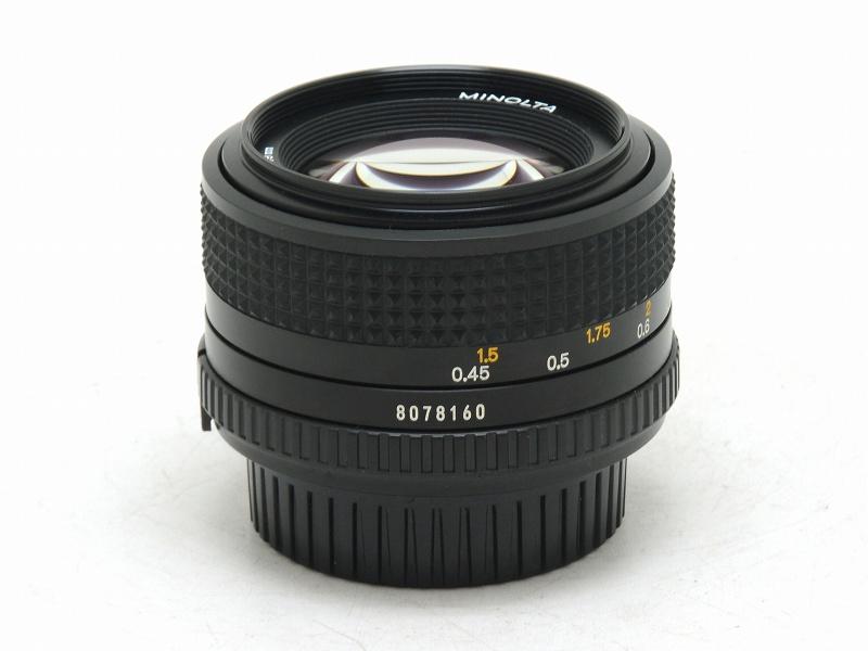 MINOLTA(ミノルタ) MD 50mm F1.4 (NS-208)