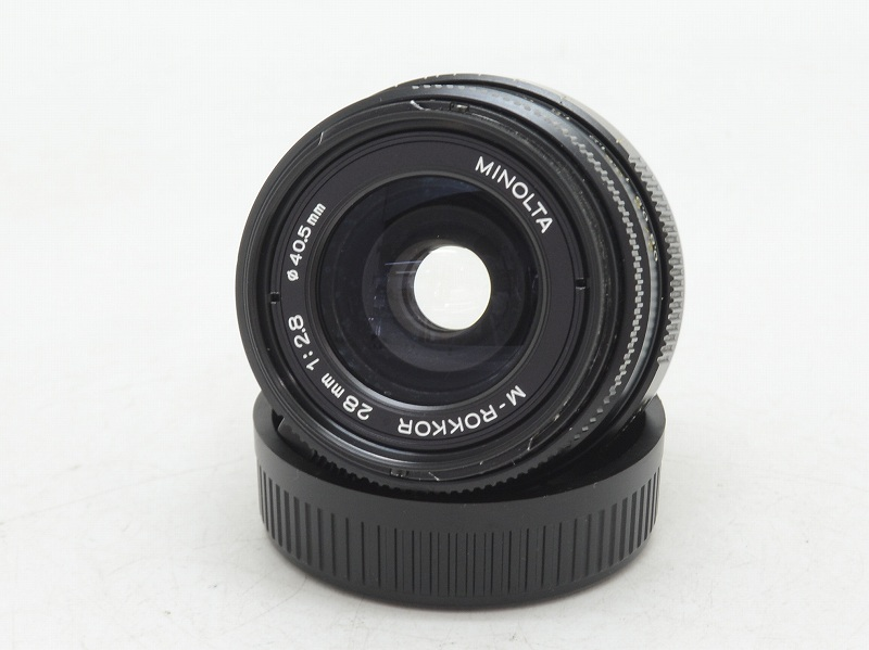 MINOLTA(ミノルタ) M-ROKKOR 28mm F2.8 (NW-2537)