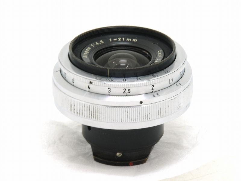 【委託】Carl Zeiss(カールツァイス) Biogon 21mm F4.5 (旧コンタックスマウント) (NI-3216)