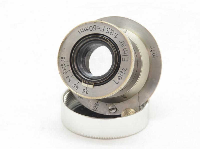 Leica(ライカ) Elmar-L 50mm F3.5 (ニッケル) 16万台 (NN-634)