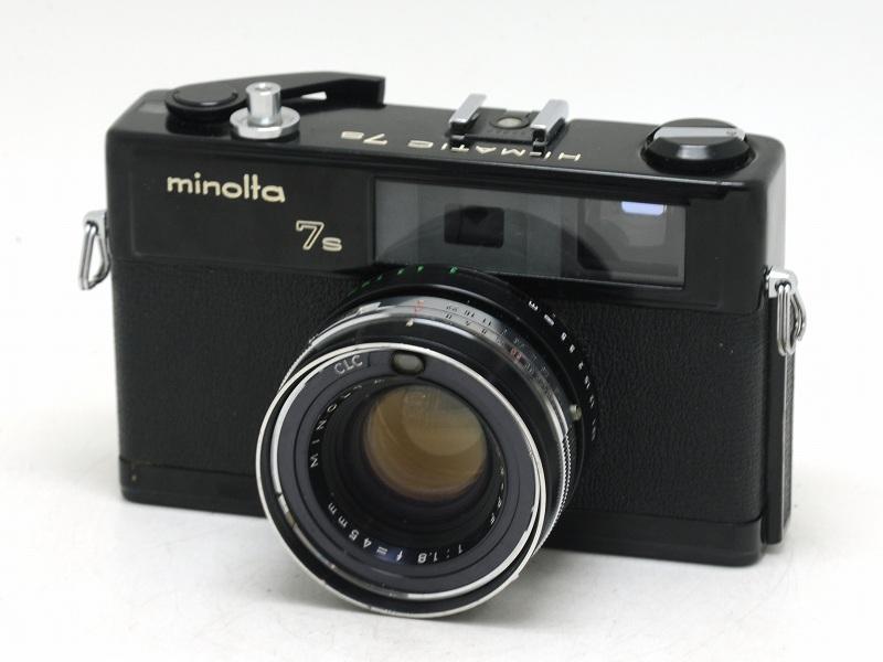 【委託】MINOLTA(ミノルタ) HI-MATIC 7s ブラック (NI-3265)