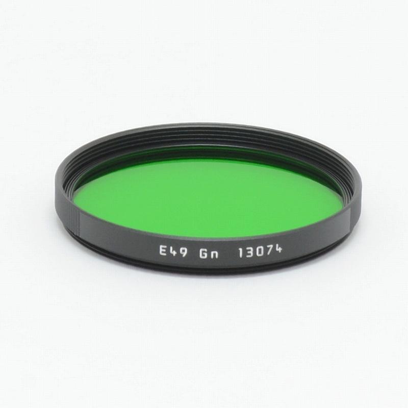 フィルター E49 グリーン LEICA(ライカ) (13074) <br>【2021年1月16日発売】