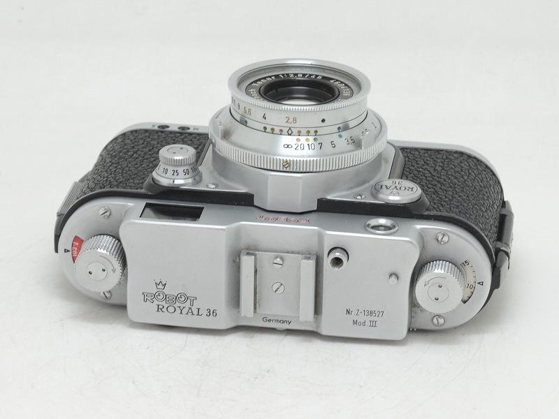 【委託】ROBOT(ロボット) ROBOT ROYAL 36 Mod.III クセナー45/2.8付 (NN-639)