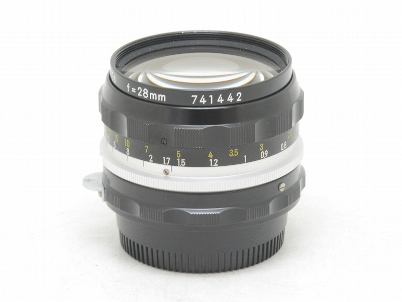 Nikon(ニコン) NIKKOR-H Auto 28mm F3.5 (NS-109)