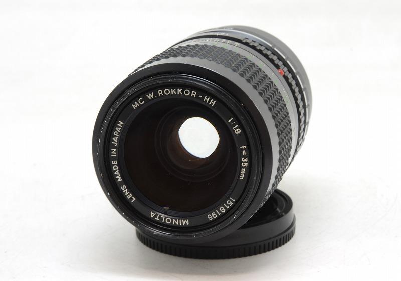 【委託】MINOLTA(ミノルタ) MC W.ROKKOR-HH 35mm F1.8 (NI-3077)
