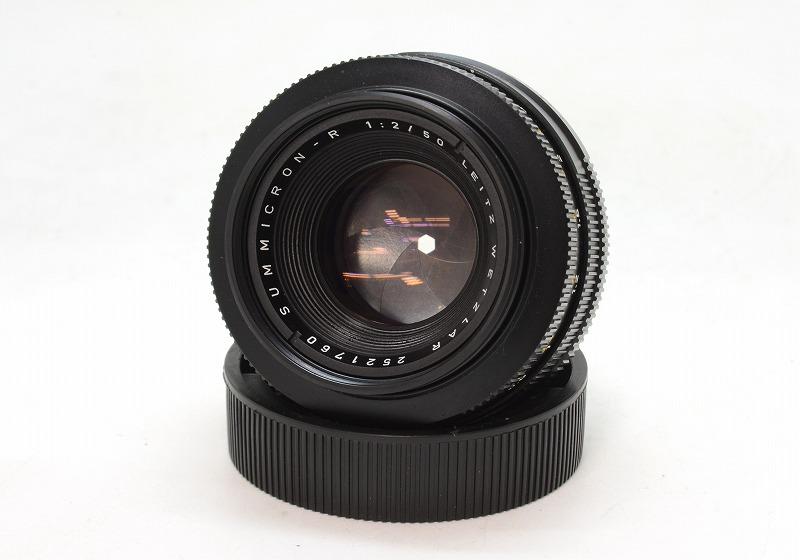【委託】Leica(ライカ) SUMMICRON-R 50mm F2 (2-CAM) 252万台 (NI-3078)