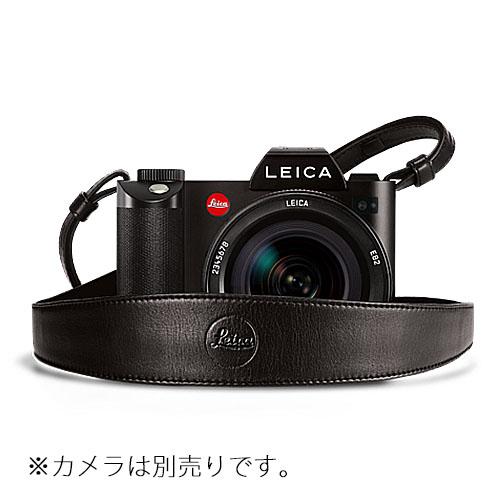 レザーストラップ ブラック ワイド LEICA(ライカ) (14455)