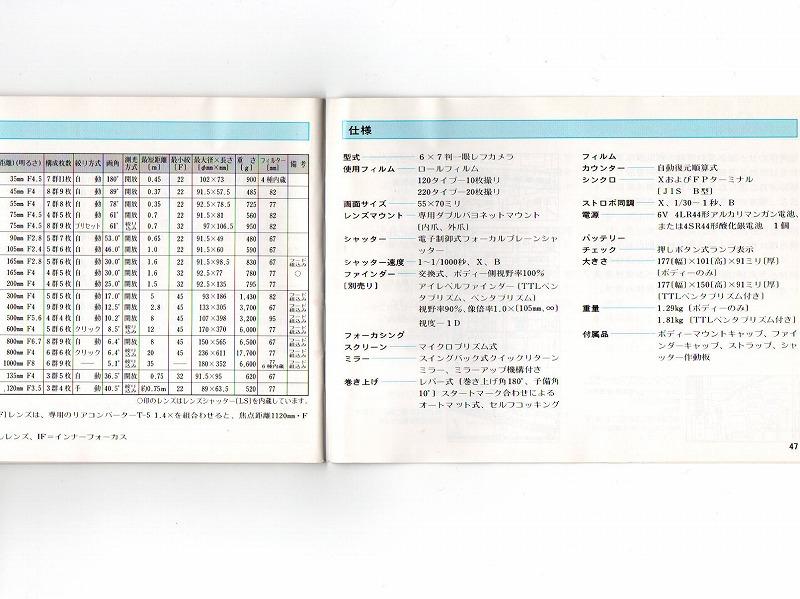 PENTAX(ペンタックス) PENTAX 67 取扱説明書 (TO-0517)<br>【DM便発送商品/送料当社負担】