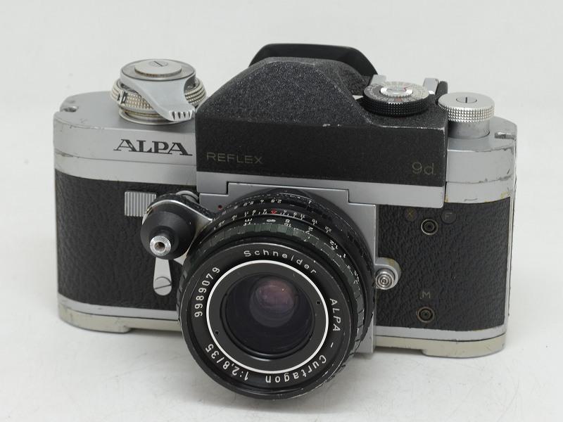 【委託】ALPA(アルパ) ALPA REFLEX 9d カルタゴン35/2.8付 (NI-3175)