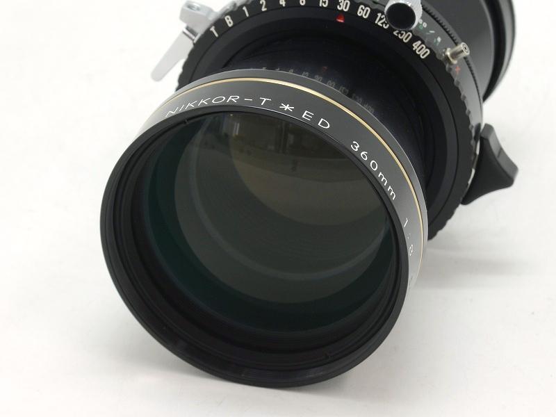 【委託】Nikon(ニコン) NIKKOR-T ED 360mm F8 (大判用) (NI-3200)