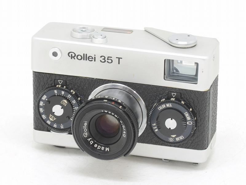 Rollei(ローライ) Rollei 35T シルバー (NW-2660)