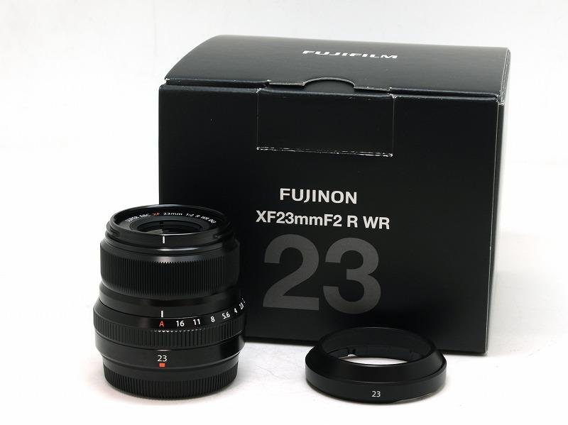 FUJIFILM(フジフィルム) XF 23mm F2 R WR ブラック (NJ-5065)