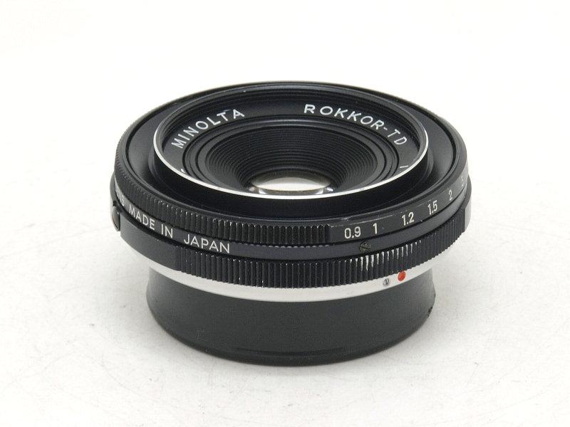 MINOLTA(ミノルタ) ROKKOR-TD 45mm F2.8 (NJ-5106)