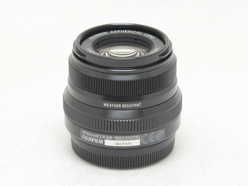 FUJIFILM(フジフィルム) XF 35mm F2 R WR ブラック (NW-2486)