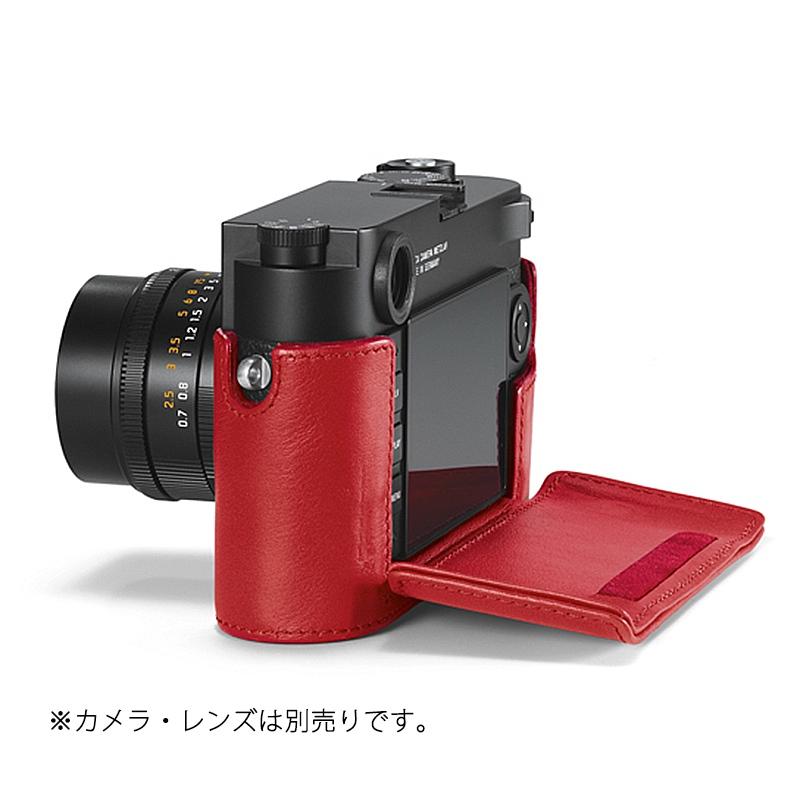 レザープロテクター レッド [M10用] LEICA(ライカ) (24022)