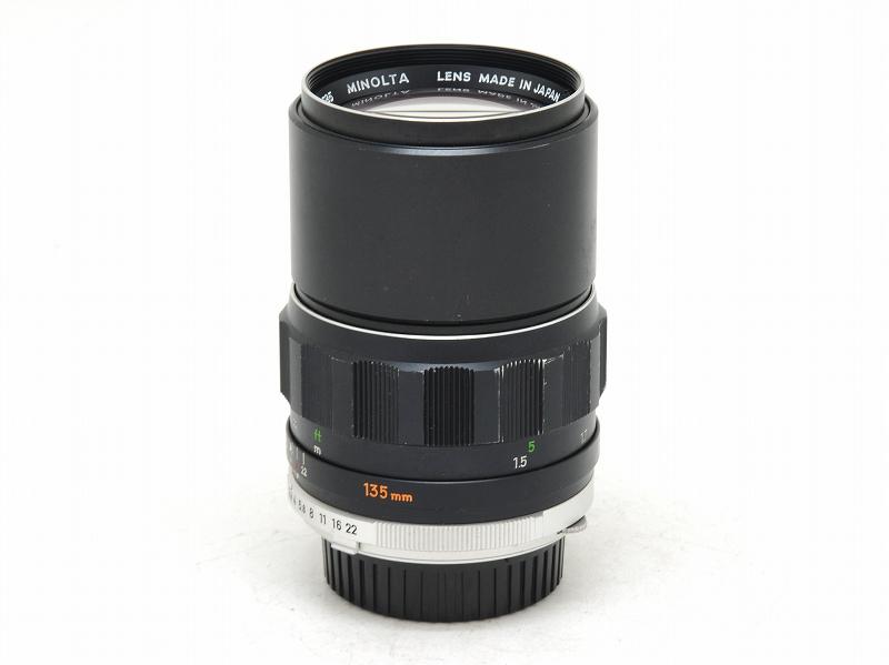 MINOLTA(ミノルタ) MC TELE ROKKOR-PF 135mm F2.8 (0NAC-2261)