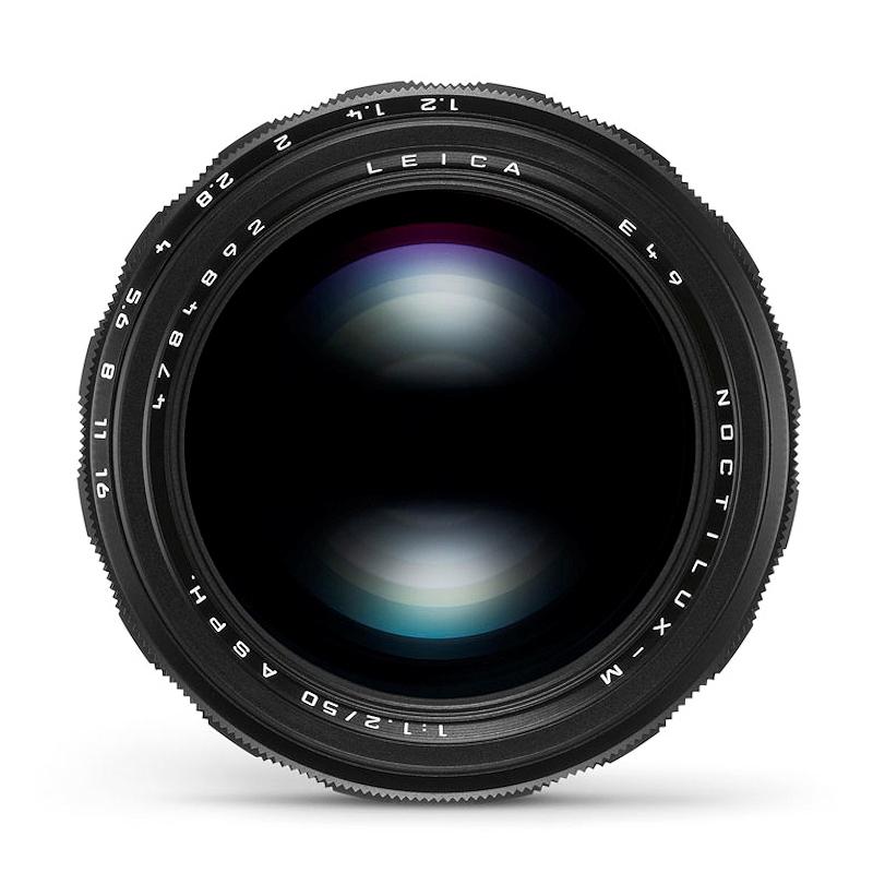 ノクティルックスM f1.2/50mm ASPH.  <ブラックアルマイト> LEICA(ライカ) (11686)<br>【予約受付中/2020年2月発売予定】【送料は当社負担】
