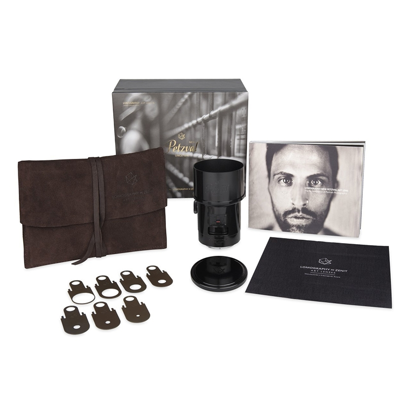 Lomography New Petzval 85mm Art Lens 【Black】【Canon EFマウント】 z240c