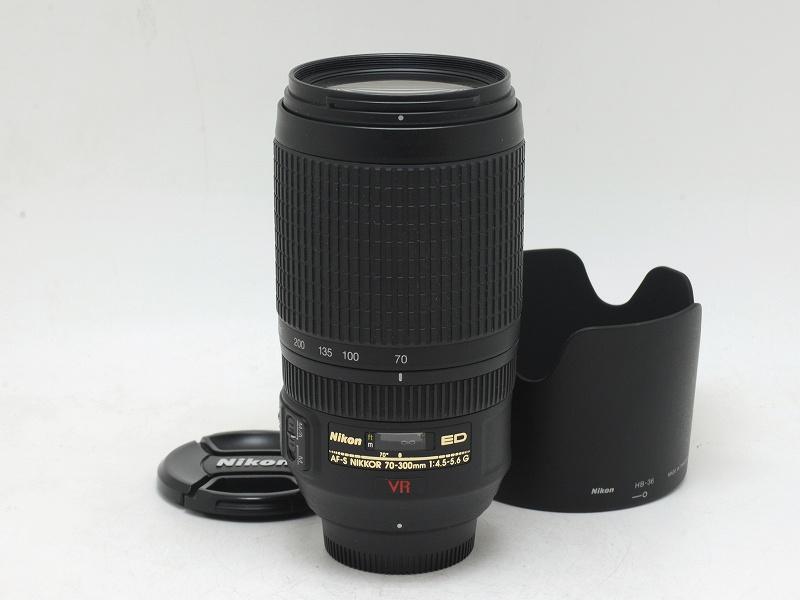 Nikon(ニコン) AF-S 70-300mm F4.5-5.6G ED VR (NJ-5299)
