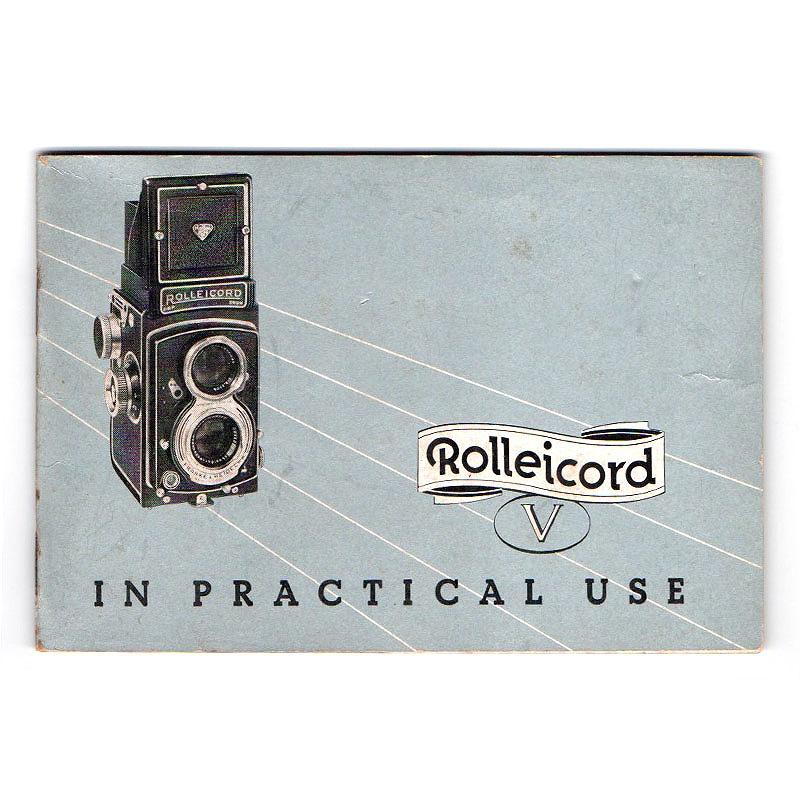 Rollei(ローライ) Rollecord(英文) 取扱説明書 (TO-0490)<br>【DM便発送商品/送料当社負担】