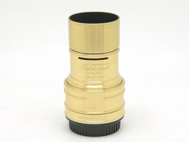 【委託】lomography(ロモグラフィー) DAGUERREOTYPE ACHROMAT 64mm F2.9 Brass (キヤノンEFマウント) (NI-3329)