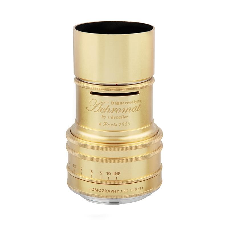 Lomography Daguerreotype Achromat 2.9/64 Art Lens 【Brass】【Pentax Kマウント】 Z290P