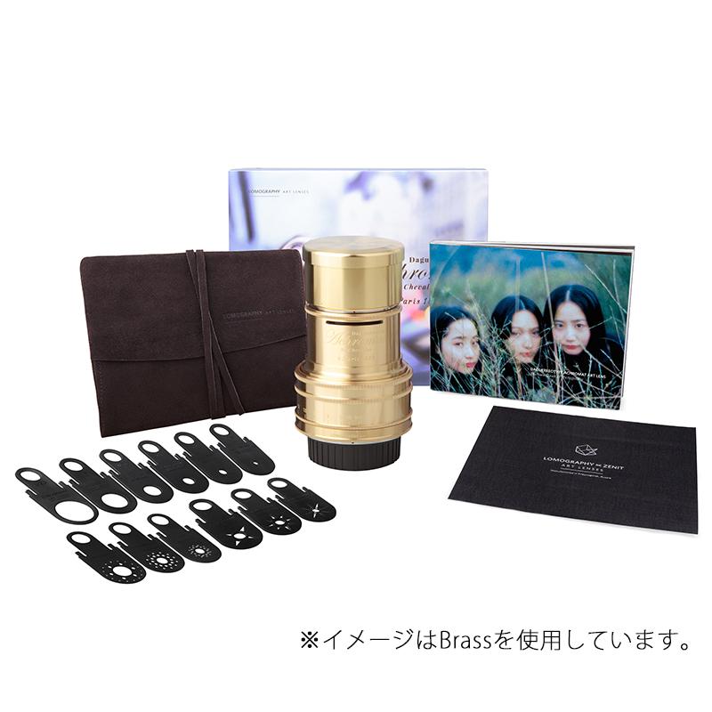 Lomography Daguerreotype Achromat 2.9/64 Art Lens 【Black】【Canon EFマウント】 Z300C