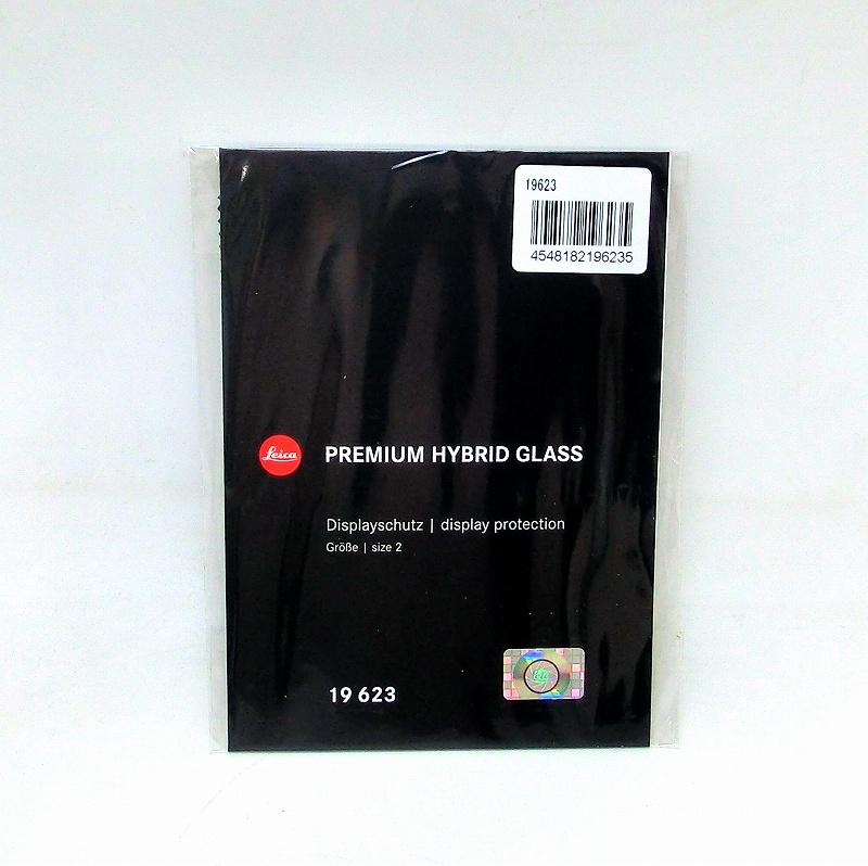 M10/M10-P/SL/Q2用 PREMIUM HYBRID GLASS<br>液晶モニター保護フィルム (1枚) LEICA(ライカ) (19623)