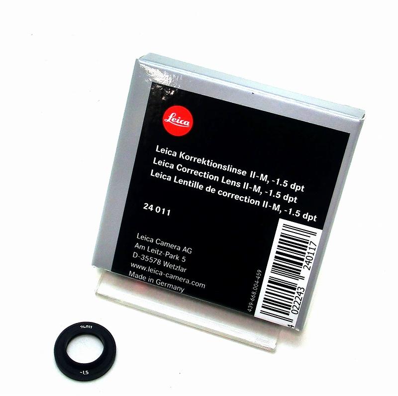 視度補正レンズ MII -1.5 dpt LEICA(ライカ) (24011)