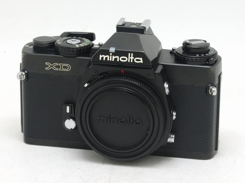 MINOLTA(ミノルタ) XD ブラック (ワインダー付) (NW-2943)