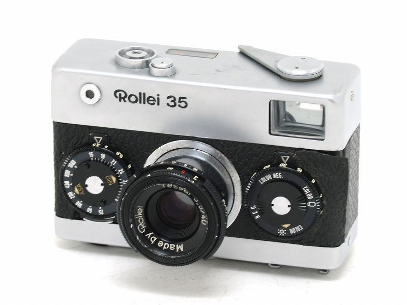 【委託】Rollei(ローライ) Rollei 35 シルバー (NI-3204)