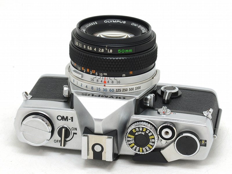 OLYMPUS(オリンパス) OM-1 MD シルバー 50/1.8付 (NW-2581)