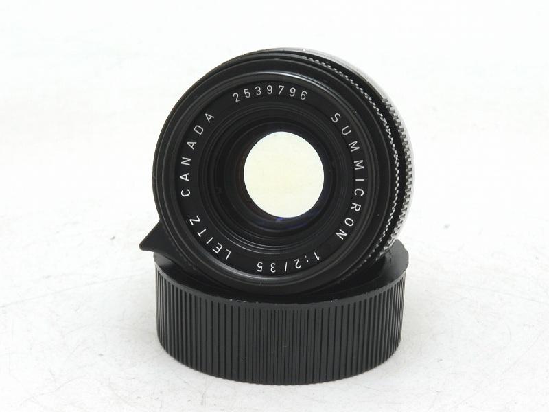 Leica(ライカ) SUMMICRON-M 35mm F2 (6枚玉・カナダ) 253万台 (NS-262)