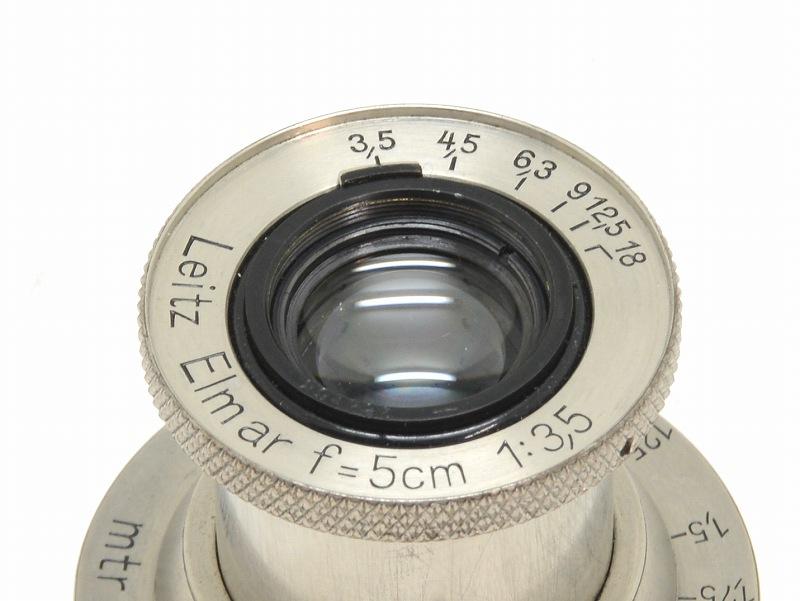 Leica(ライカ) Elmar-L 50mm F3.5 (ニッケル) 29万台 (NN-633)