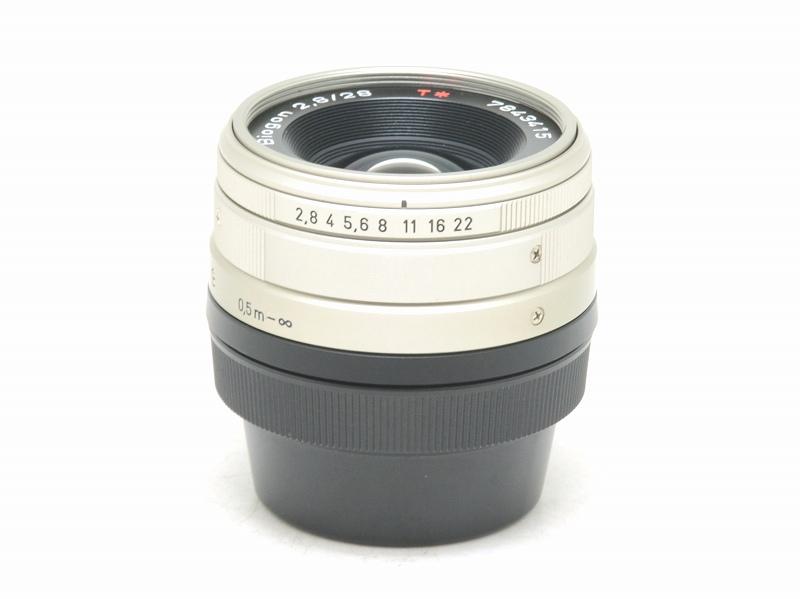 CONTAX(コンタックス) Biogon 28mm F2.8 (Gマウント) (NS-149)