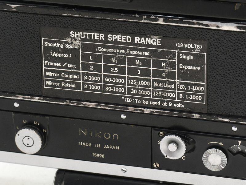 Nikon(ニコン) F フォトミック ブラック モータードライブ(F-36)付 (NJ-5085SET)