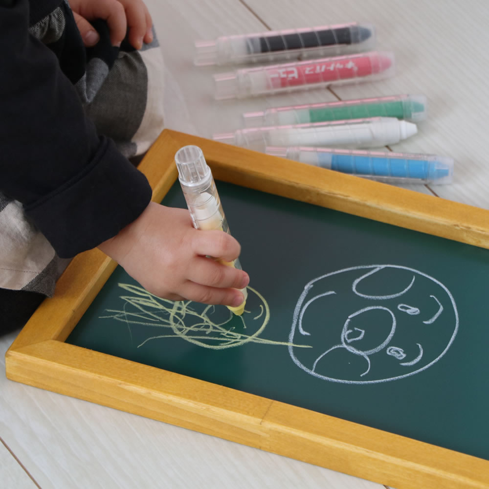 子供用黒板:黒BAN!BAN!(パステルボード)