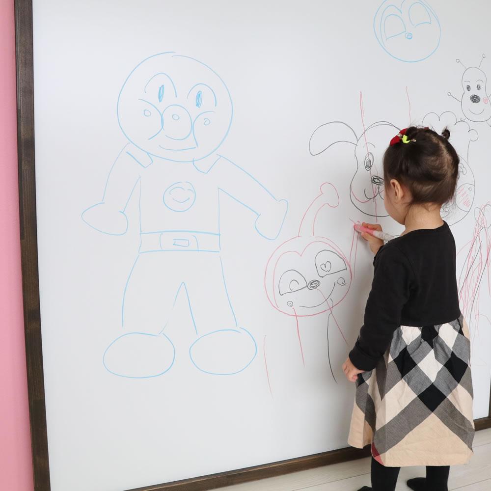 子供用黒板:黒BAN!BAN!(チョークボード)