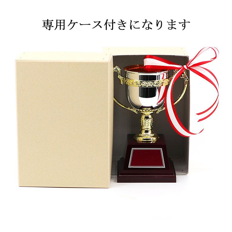 ゴールドボーダー シルバー カップ(リボン付き)