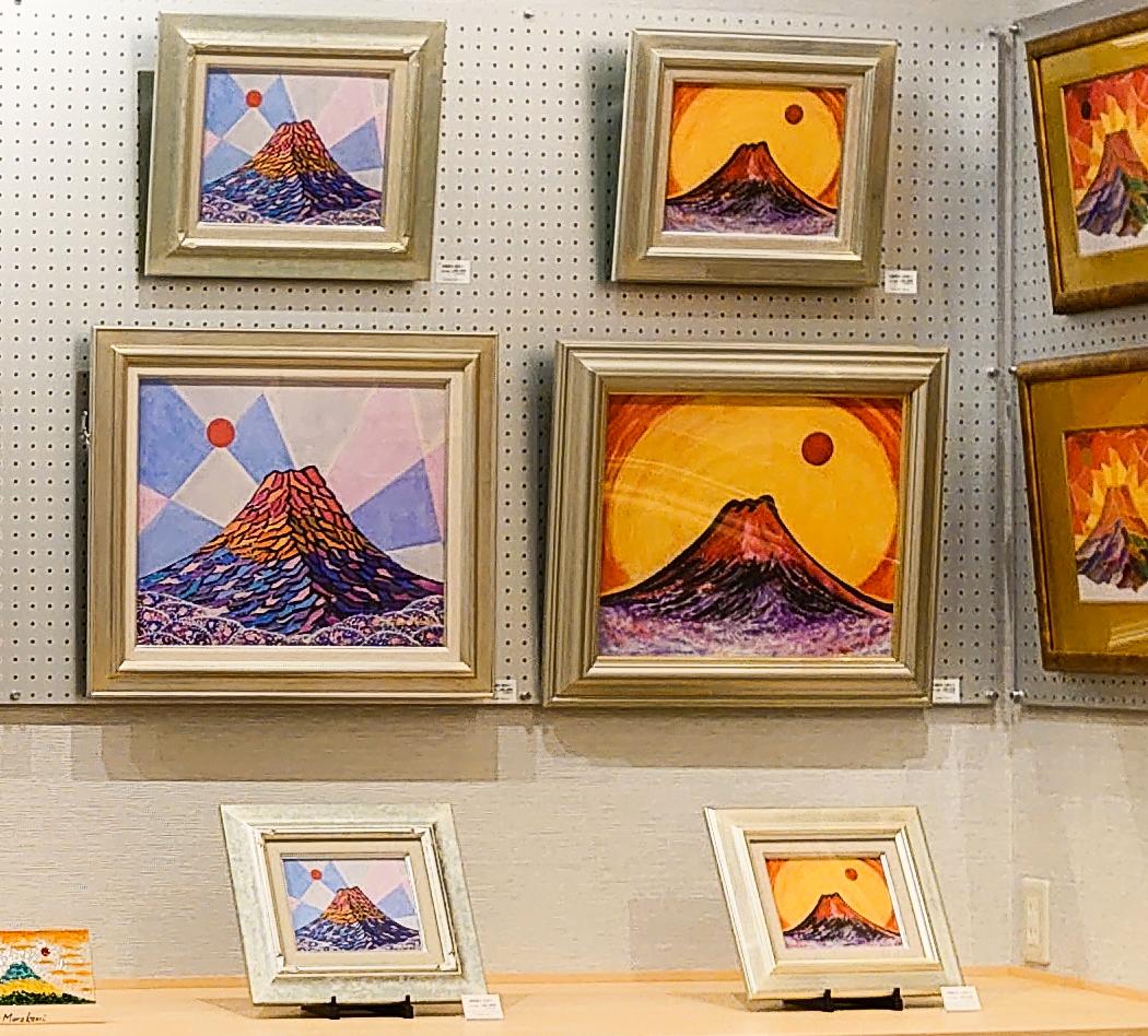 日輪彩光 天照富士
