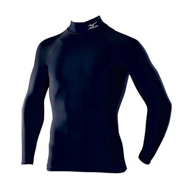 【メール便利用可】 ミズノ Mizuno バイオギア ドライアクセル ハイネック長袖シャツ A60BS350 14カラー