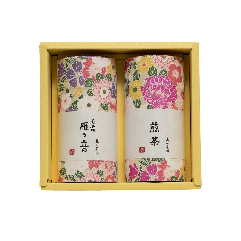 煎茶・玉露かりがねの詰合せ【松】