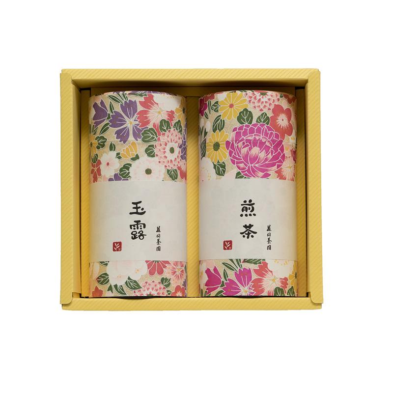 玉露・煎茶の詰合せ【竹】