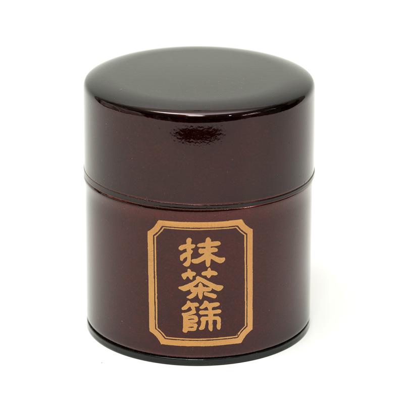 抹茶篩缶 ため色