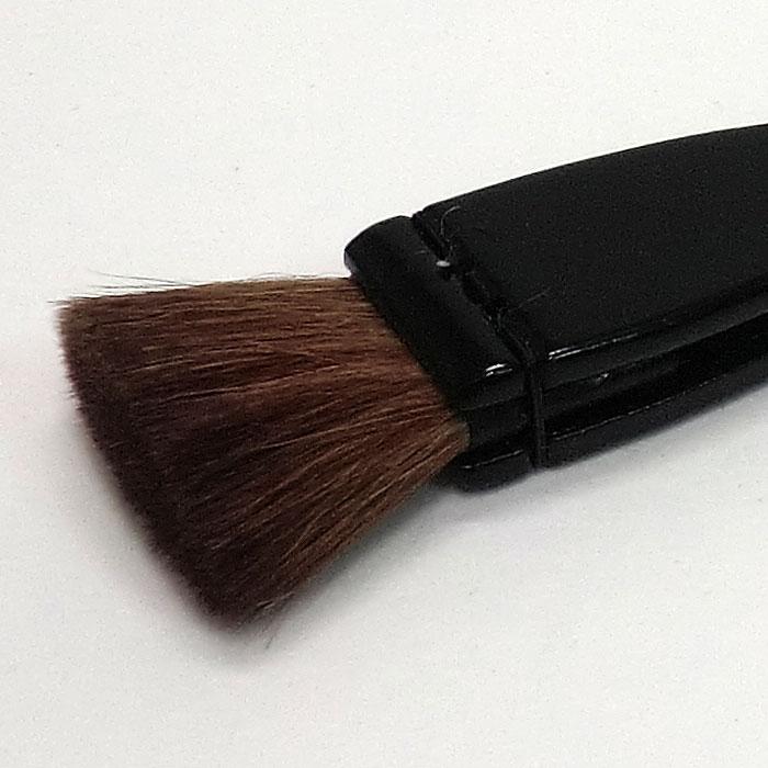 黒塗り柄刷毛 細柄 (たれはけ)