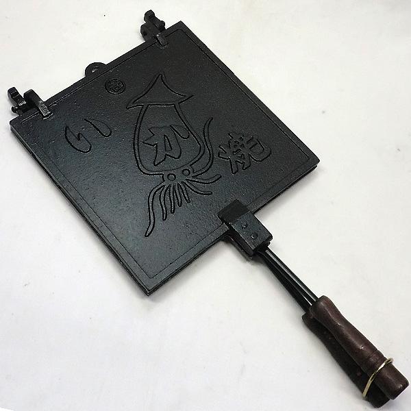 いか焼き器 鉄鋳物製 (日本製)