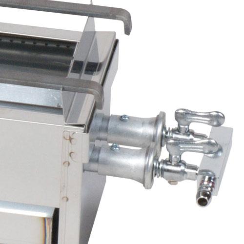 業務用 焼き鳥機 ガス式 (2本パイプ)GB-750